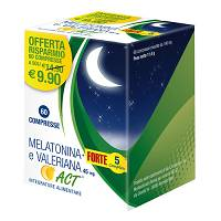 MELATONINA ACT1MG+VALER 5FT 60