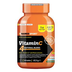 VITAMIN C 4NATURAL BLEND 90CPR
